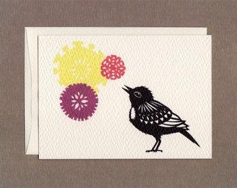 Bird Songs II - Notecard