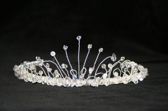 Odette Swarovski Crystal Bridal Tiara