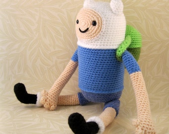 Finn the Human Amigurumi Pattern PDF