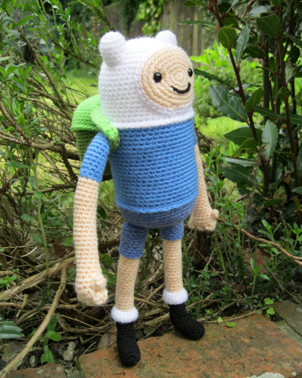 Finn the Human Amigurumi Pattern PDF - Crochet Pattern ...