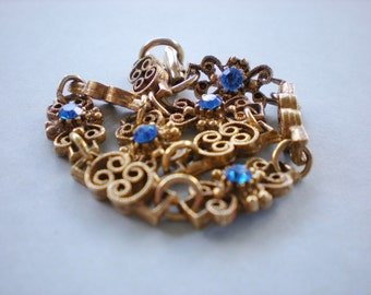 Touch of Blue Vintage Bracelet
