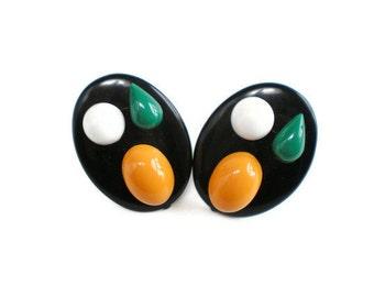Vintage Atomic Earrings