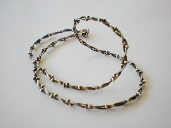 Vintage HAN Italy 925 Chain Necklace