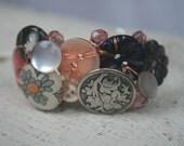Art Bracelet - Tea Roses