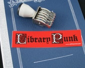 Library Punk sticker (Free shipping)