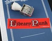 Library Punk sticker