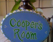 Personalized Nursery Name Plaque