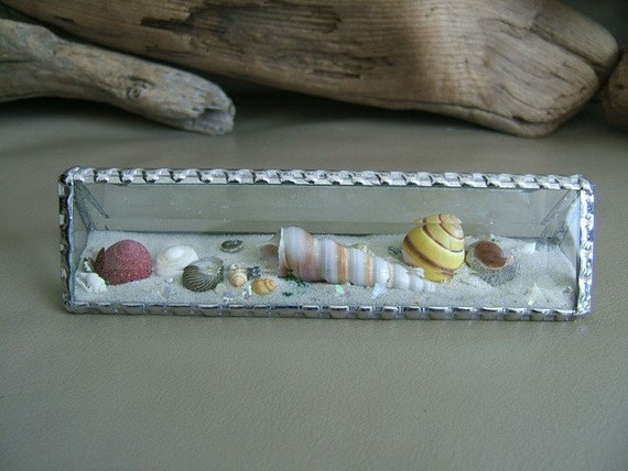 Beach by the Inch, Glass Pyramid, Sand Globe, 1 1/2inches x 6 inches