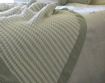 PATTERN - Tranquility Home Spa Collection - Afghan