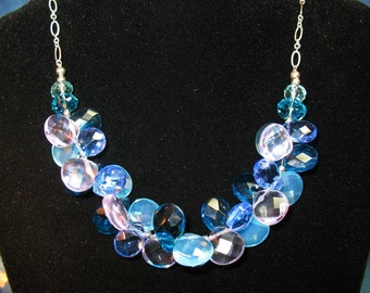 Briolette Blues Necklace