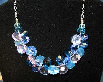 Briolette Blues Necklace