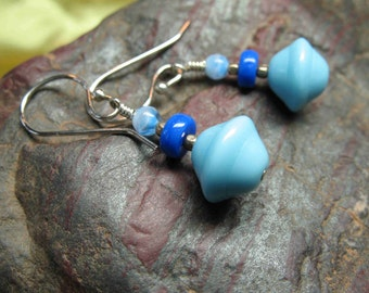Blue Sky Earrings--Sale