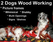 "2 Dogs Wood Working 10x20, 16x16, 16x20 Gallery Quality Plexi glass to be added to the order of a ""2 Dogs Wood Working"" picture frame"
