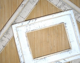 Picture Frame 20x30 OR 22x28 You choose from 63 colors Weathered rustic Shabby Picture frame ( Avail. in ANY size )