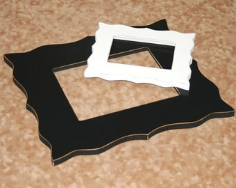 """Whimsical Picture Frame 16x24, 18x24 or 20x24 Shabby """"Whimsical Expressions""""  Whimsical picture frame Choose Colors"""