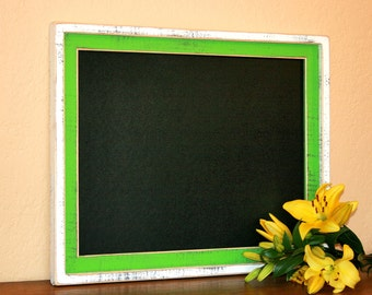 """framed Chalkboard Picture frame package large ext size 20x24 """"Shake it up Baby"""" You CHOOSE 2 COLORS from 63 colors"""