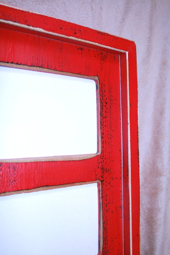 9 Collage Multiple Multi opening photo picture frame for 9)5x7 OR 4x6 images u0026quot;Colored Barnwood ...