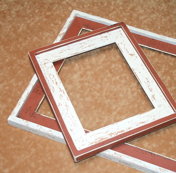 Picture Frame 2 Color Choice 8x8 8x10 Or 8 5x11 Choose
