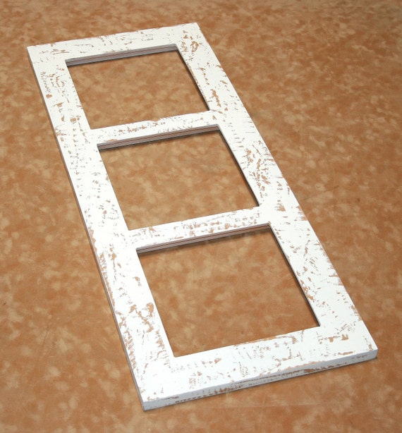 Items Similar To Picture Frame Multi Opening 3 8x8 Or
