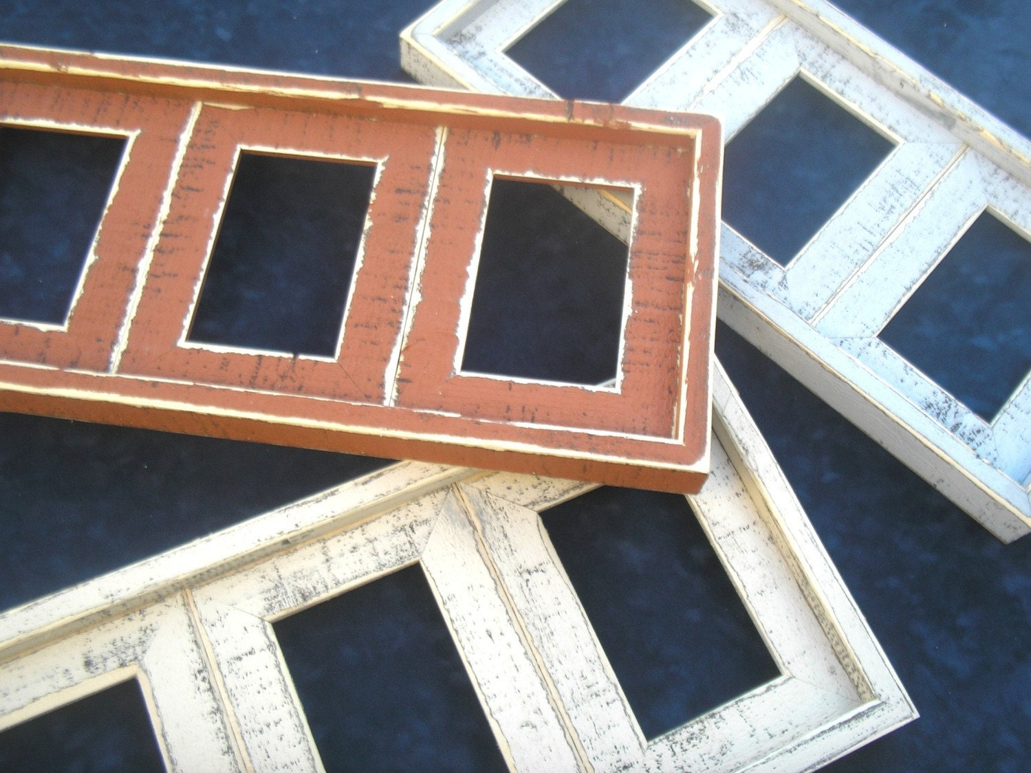 Multi Picture Frame For 3 4x6 Or 5x7 Images Multi Opening