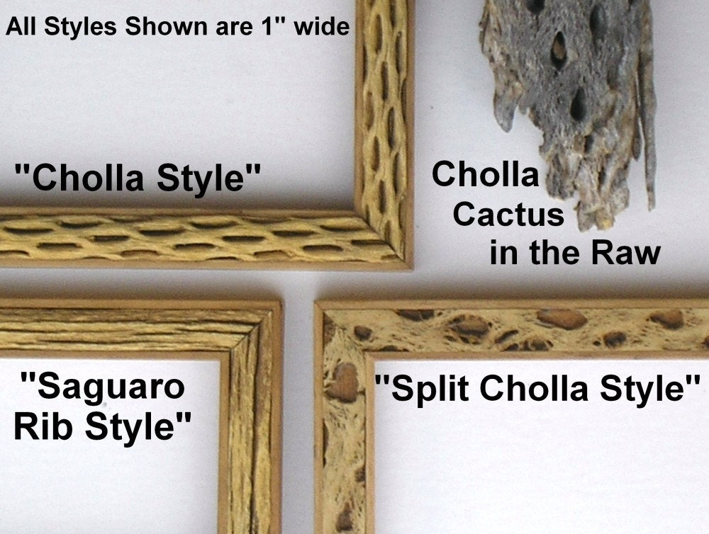 Full Trend Rustic Picture Frames : 8x10 Cholla Style Cactus Rustic Picture frame by 2DogsWoodWorking