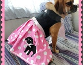 The Pink Puggle Skirt -Dog Halloween Costume