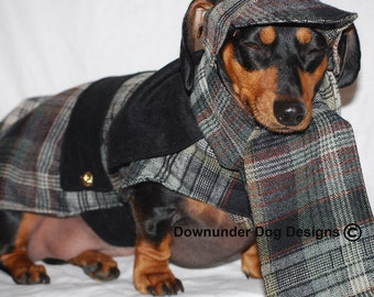 Sherlock Holmes 3 piece outfit As Mentioned on Peoplepets.com