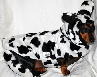 Cow Costume Dog Halloween Costume