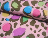 Fantastic Colorful Leopard in Pink -- EK-QS38258B
