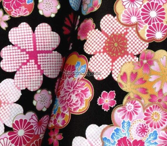 Fantastic Sakura Design in  Black  -   EK-QS38107C