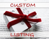 CUSTOM LISTING FOR ccuomo