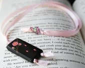 Hand-Painted Blossom Bookmark