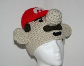 Child size character hat  - fun  and completely custom winter hat