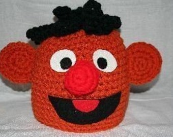 Handmade crochet character hat - fun hat for adults and kids