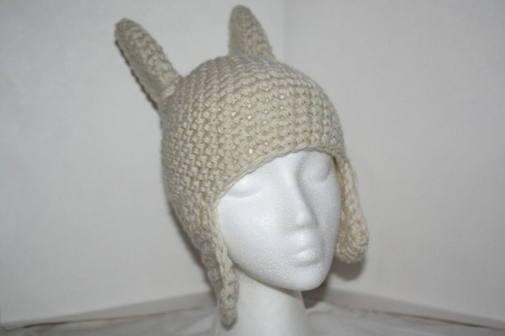 Child size hat inspired by Max - Where the wild things are - made with ear flaps and spikes