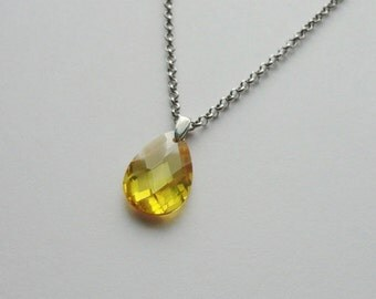 Bright Sunny Yellow Necklace