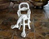 Senate Seat Ceramic Sculpture