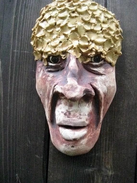 He's a Flake Ceramic Mask