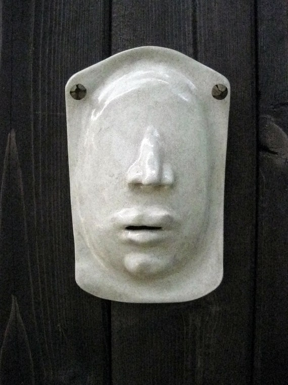 Sale-See no Evil Ceramic Mask