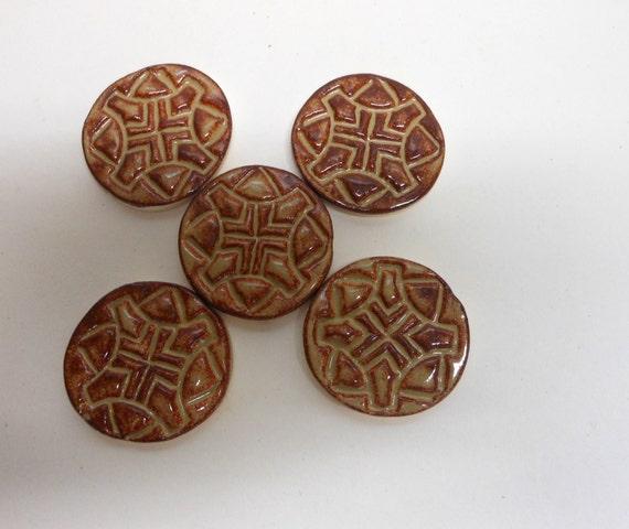 Aztec Design Mosaic Tiles