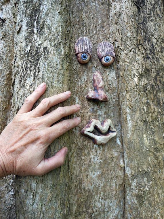 Blue Eyed Tree Face