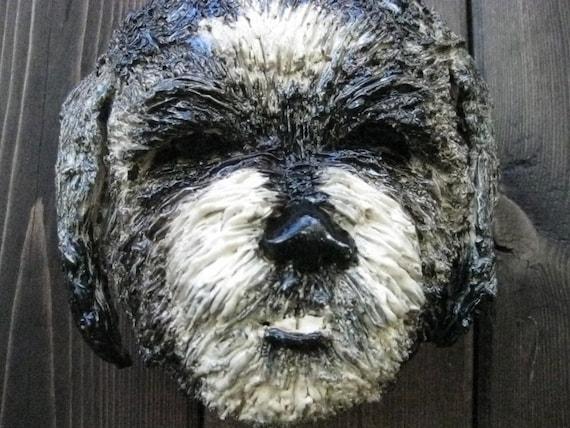 Sale- Shih tzu Dog Ceramic Mask