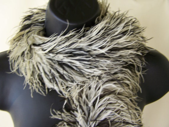 1930s 20s Feather Boa Ostrich Feather Scarf By