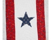 Quilted Service Star Banner
