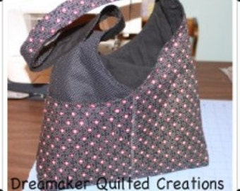 Handmade Large Hobo bag