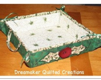 Holiday Gift Basket, cookie tray