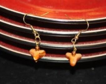 Topaz Treasure Handcrafted Pierced Earrings SALE