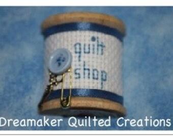 Spool Its Quilt Shop Pin Brooch