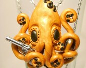 Octopus Necklace From My Cold Dead Tentacles
