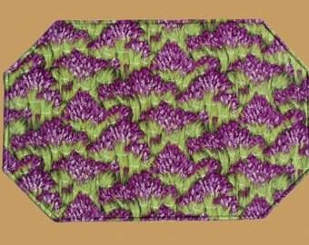 Lavender Reversible Place Mat